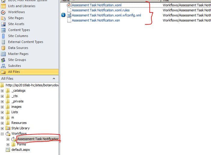 Reusable Workflow to Visual Studio 2010